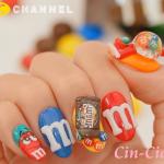 チョコレートの王道☆m&m's ネイルcchannel動画